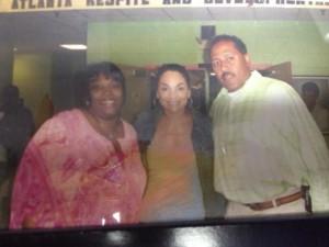 Frank Ski, Wanda Smith, and Jasmine Guy at MARDS