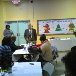 Councilman Jim Maddox attends a MARDS Holiday program